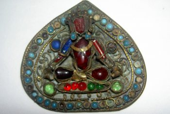 Bronze Helmet Ornament