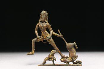 Durga slaying Mahisa