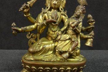 Bodhisattva Mañjuśrī (Sadbhuja Mañjuśrī)