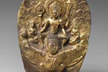 Vishnu Riding on Garuda