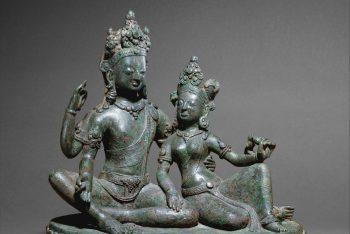 Shiva Seated with Parvati