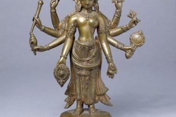 Figure of Laksmi-Narayana