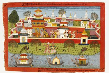 Krishna and Jambhavati
