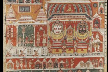 View of the Jagannatha Temple, Puri