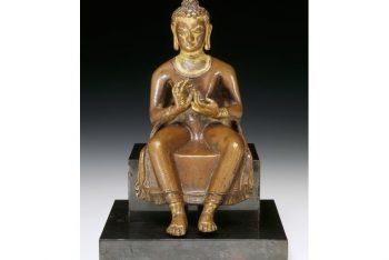 The Buddha Preaching