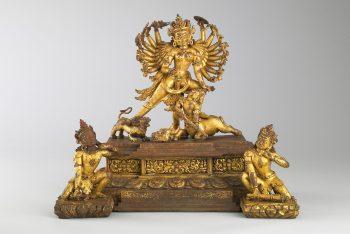 Durga Killing the Buffalo Demon