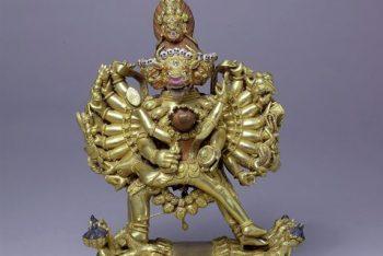 Figure of Vajrabhairava