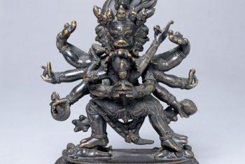 Figure of Vajrakilaya