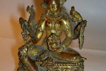 Figure of Goddess Vasudhara