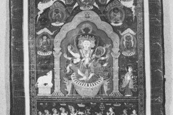 Manjusri with his consort Shakti