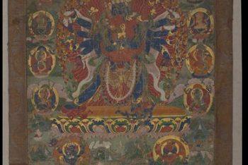 Temple banner / Prabha