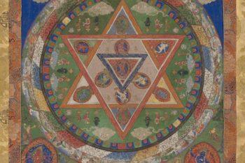 A mandala of the Buddhist deity Vajravarahi