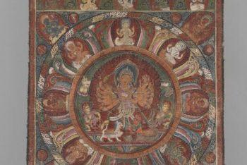 A mandala of the Hindu deity Durga