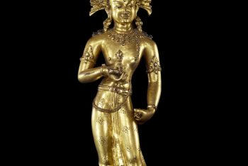 A standing figure of the Bodhisattva Vajrasattva