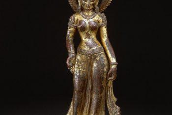 Copper figure of a Tara