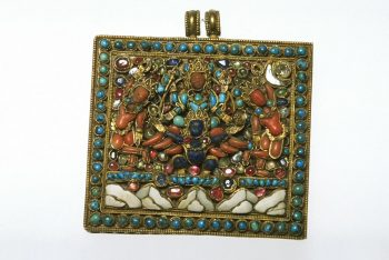 Amulet box, part of a set of jewellery