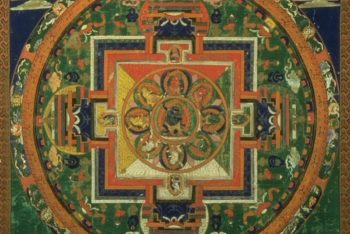Mandala of the Buddhist deity Chandamaharoshana