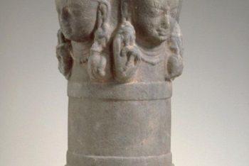 Phallic symbol of the Hindu deity Shiva