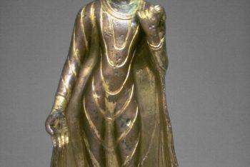 Presumed forgery representing the Buddha Shakyamuni