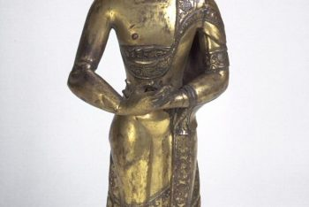 Standing attendant, one of a Pair