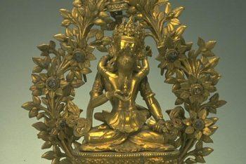 The Buddhist deity Vajrasattva Arapachana
