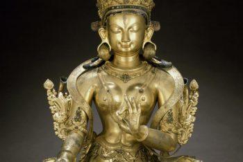 The Buddhist deity White Tara