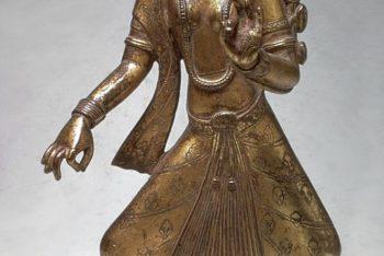 The Hindu deity Parvati as a dancer