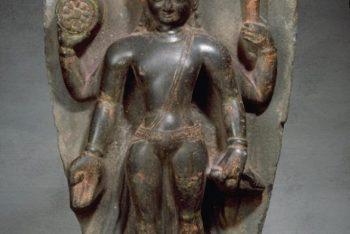 The Hindu deity Vishnu