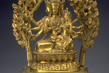The bodhisattva Manjushri with consort