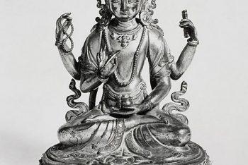 The bodhisattva Shad-akshari Avalokiteshvara