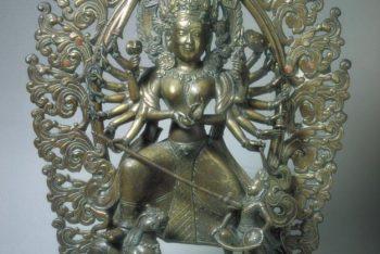 The deity Durga