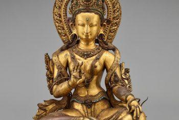 The deity Green Tara