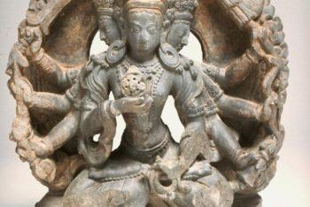 The deity Sitatapatra Aparjita