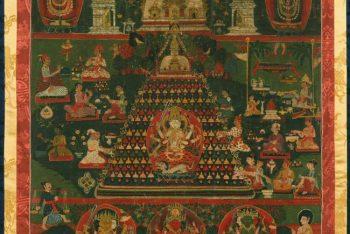 The laksha-chaitya ceremony at Svayambhu Stupa/ Pata