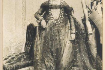 Wife of Maharaja Teen Chandra Shamsher Jang Bahadur Rana of Nepal
