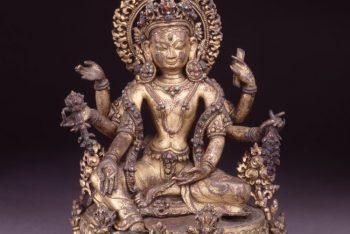 Goddess Vasudhara with 6-arms