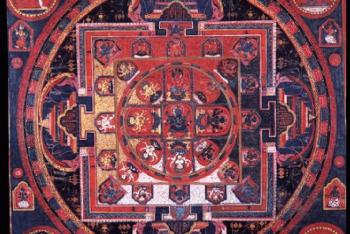 Mandala of Guhyasamaja (Buddhist Deity) – Akshobhyavajra