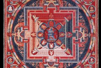Mandala of Yamari, Krishna (Buddhist Deity) – (6 Faces)