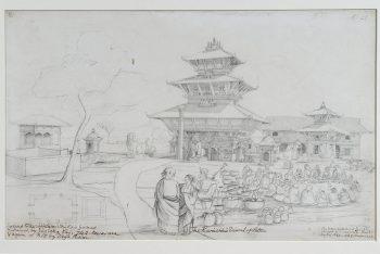 Temple Of Balkumari, Kwachhen, Patan
