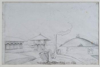 The Asoka Stupa, Langankhel, Patan