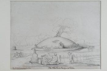 The Asoka Stupa, Teta, Patan