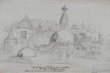 The Monastery Of Kathisambhu, Kathmandu