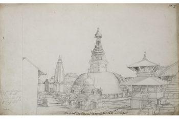 The Stupa Of Svayambunath, Kathmandu