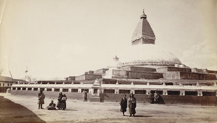 Monastery, Nepal [Boudhanath]