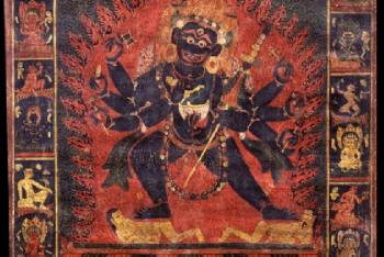 Mahakala (Buddhist Protector) – (1 face – 8 hands)