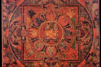Mandala of Guhyasamaja (Buddhist Deity) – Manjuvajra