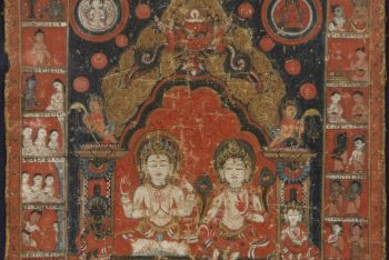 Lokeshvara and Tara, Bodhisattvas of Compassion