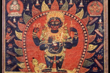 Mahakala (Buddhist Protector) – (1 face – 4 hands)