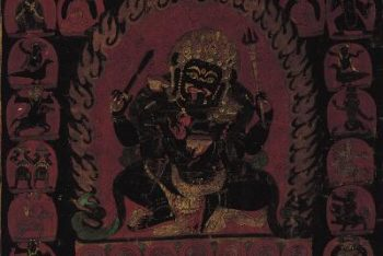 Mahakala with Retinue and Lamas