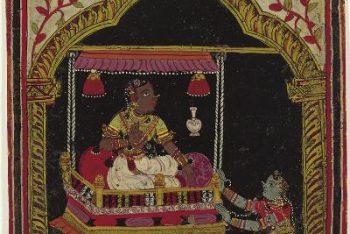Ragamala Album: Hindolika Ragini